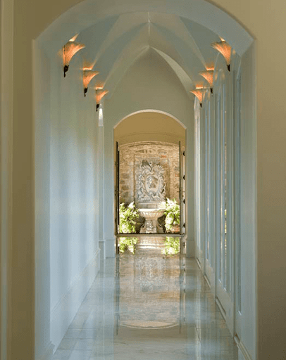 home interior hallway