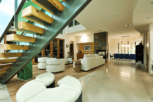 interior of modern austin home